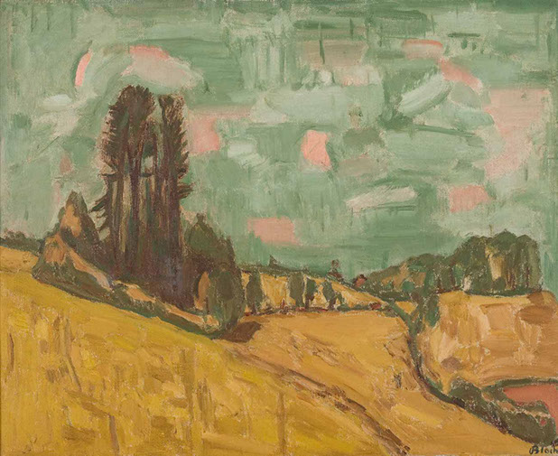 Clump of Trees 1946 painting by Martin Bloch