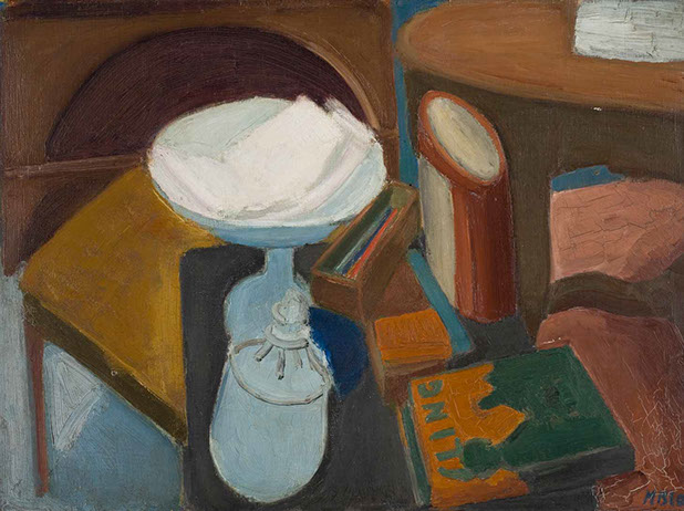 Still Life with Book 1931 painting by Martin Bloch