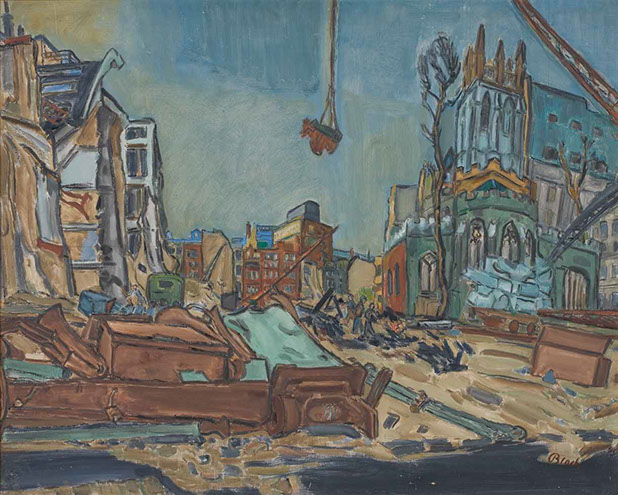 Survival 1941 painting by Martin Bloch